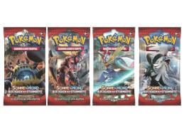 Pokémon Sonne & Mond 04 Aufziehen der Sturmröte Booster