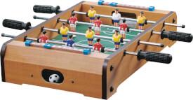 Natural Games Tischkicker, aus 100% FSC Holz, mit 12 Spielern aus Kunststoff, ca. 51x31,5x9 cm, für 2-4 Spieler, ab 5 Jahren