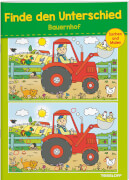 Finde den Unterschied Bauernhof, Rätselheft, 32 Seiten, ab 6 Jahren