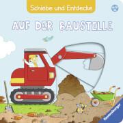 Ravensburger 43776 Schiebe und Entdecke: Auf der Baustelle