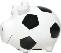 Sparschwein ''Fußballschwein'' - Kleinschwein von KCG - Höhe ca. 9 cm