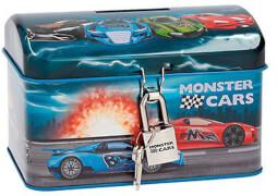 Depesche 6314 Monster Cars Blech Spartruhe
