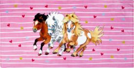 Zauber-Badetuch Mein kleiner Ponyhof